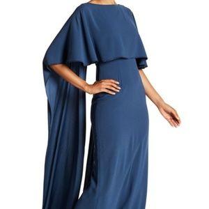 St. John - Cape Back Embellished Formal Dress